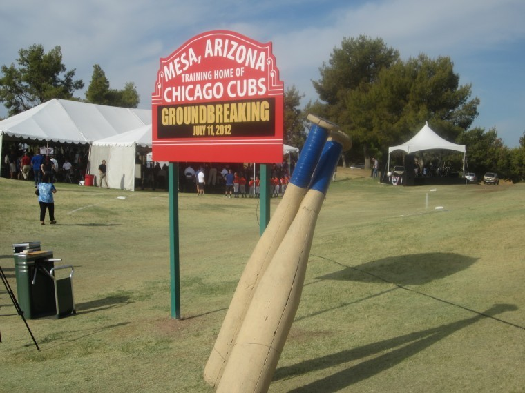 New Cubs spring training facility