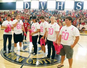 Pink Out at Desert Vista