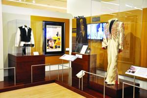 Elvis Presley display at MIM