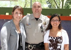 Mesa Teen Thanks sheriff
