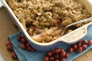 Food-Pear Crisp