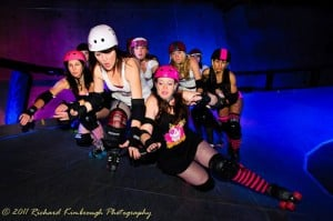 ROLLER DERBY DOUBLEHEADER
