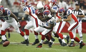 Cardinals pay Bills in full with impressive rout