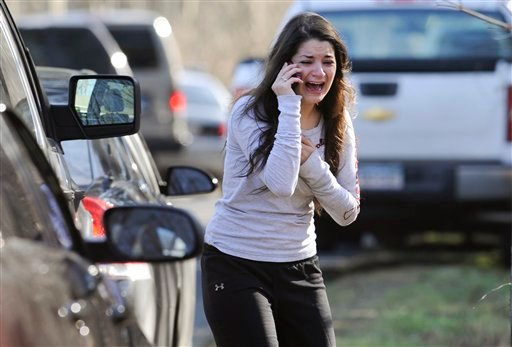 APTOPIX Connecticut School Shooting