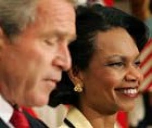 Bush promotes Rice to Secretary of State