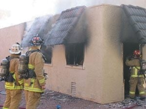 Scottsdale laundry room fire extinguished