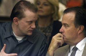 Defense blames serial shootings on Hausner's pal