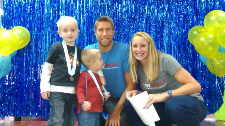 Matt Grevers and Annie Chandler