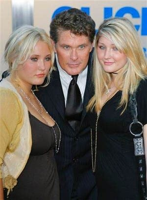 Hasselhoff's visitation rights suspended