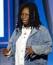 Oscar snub leaves Whoopi sad, choked up 