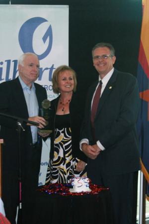 John McCain, Kathy Tilque, Jon Olson