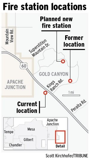 A.J. fire station site selection sparks squabble