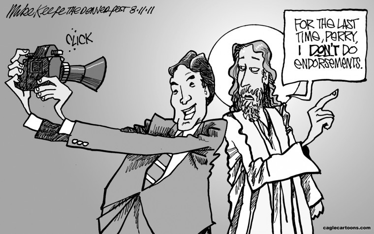 Governor Perry and Jesus