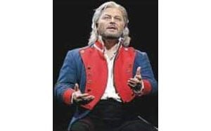'Les Miz' lead actor doesn't mind life on the road