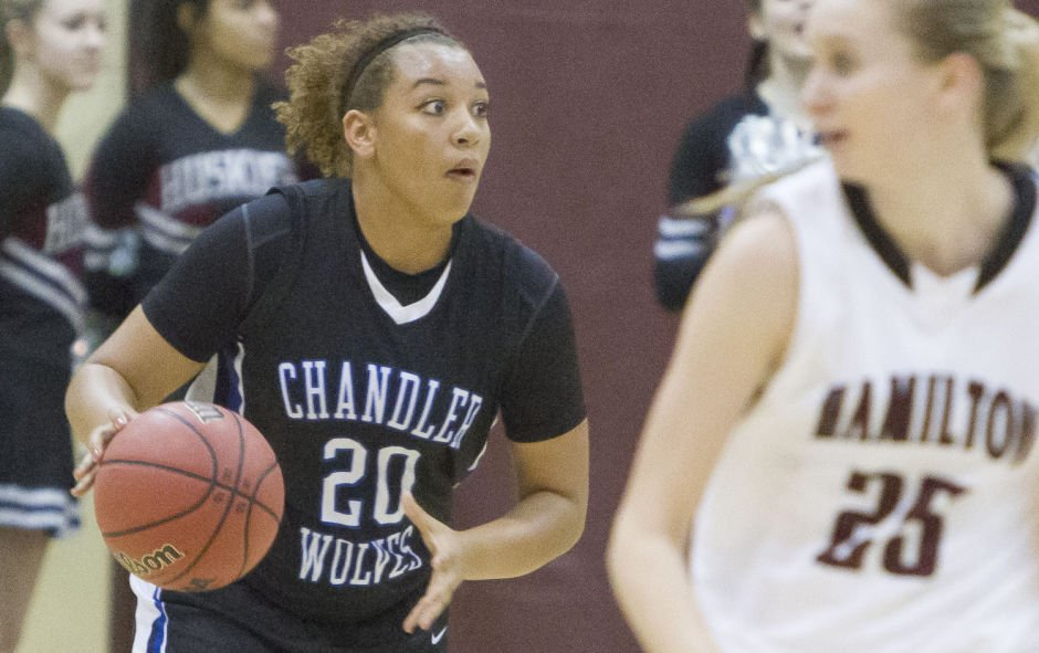 Basketball: Hamilton vs Chandler