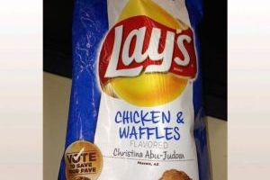 Chicken and Waffles Potato Chips