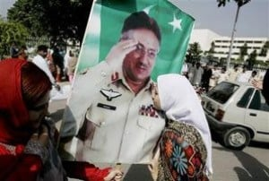 Musharraf sweeps Pakistan election 