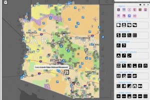Arizona Experience map