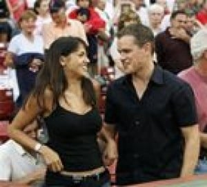 Matt Damon marries girlfriend in NYC
