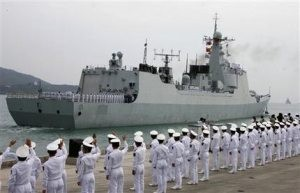 China targets pirates in groundbreaking mission