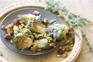 Food Thanksgiving Brussels Sprouts