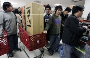 Retailers open doors, offer online deals on Thanksgiving