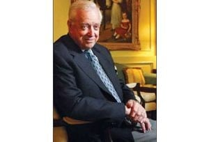 Hugh Downs sails into his 80s