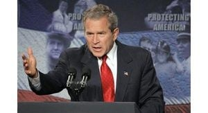 Bush defends decision to invade Iraq