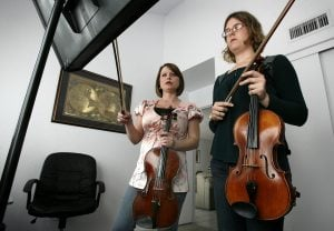 Symphony viola player leads an up-tempo, musical life 