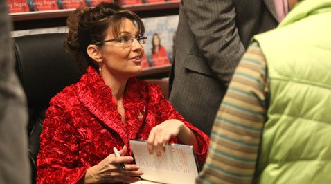Palin should be going anywhere but politics