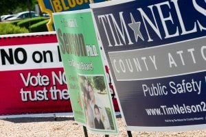 Profiting from old political signs