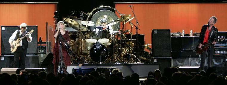 John McVie, Stevie Nicks, Mick Fleetwood, Lindsey Buckingham