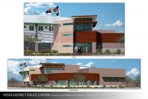 Mesa Police Substation Rendering