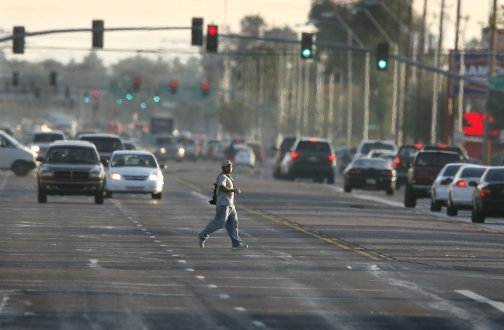 Jaywalkers becoming a safety concern in Mesa