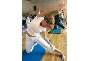 Yoga practice blends exercise, spirituality