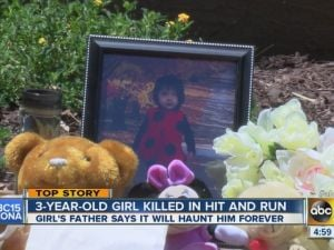 3-year-old hit-and-run victim from Mesa loved to sing, dance