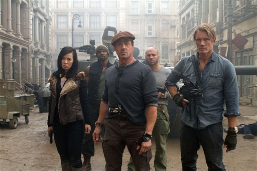 Film Review-Expendables 2