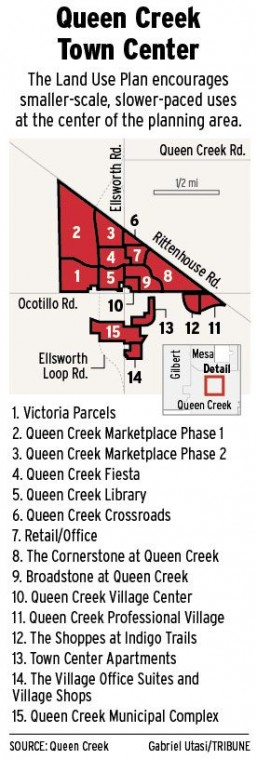 Queen Creek's town center rises