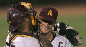 Leake pitches ASU past Oral Roberts