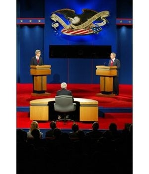 Bush, Kerry battle at Tempe presidential debate