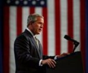 Bush announces plan for troop realignment