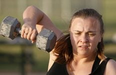 E.V. women sign up for Army-style discipline to get in shape