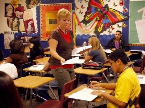 Higley teacher a finalist for teacher of year