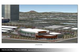 Mesa Police Substation Rendering