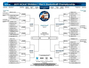 NCAA Men's Basketball Bracket (PDF)