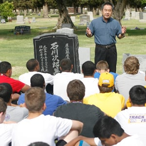 Mesa high football player honor Zedo Ishikawa