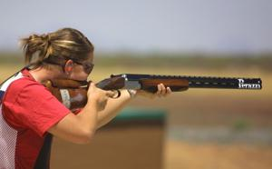 Olympic trapshooting