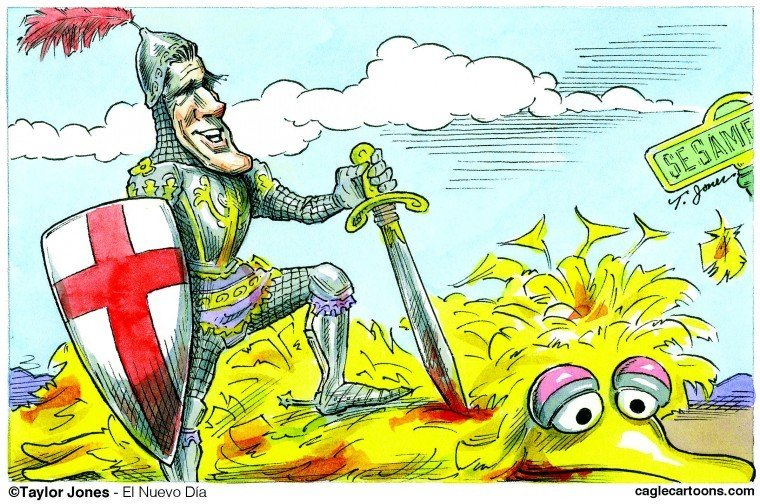 St. Mitt and the Dragon