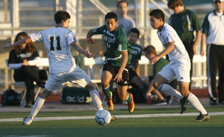 San Luis vs. Desert Vista boys soccer semifinal