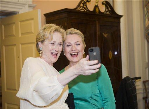 Meryl Streep, Hillary Rodham Clinton